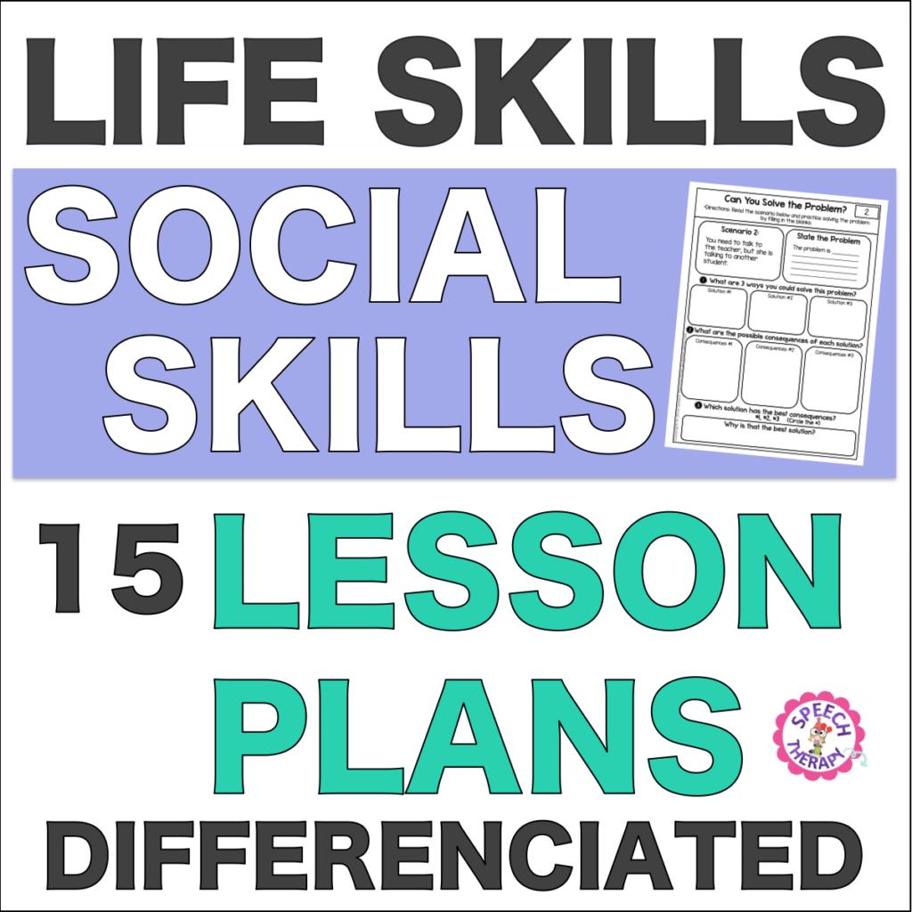 Life Skills Social Skills