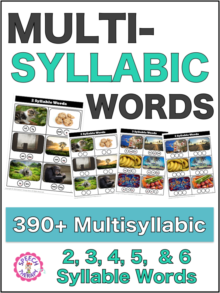 Multisyllabic Word List