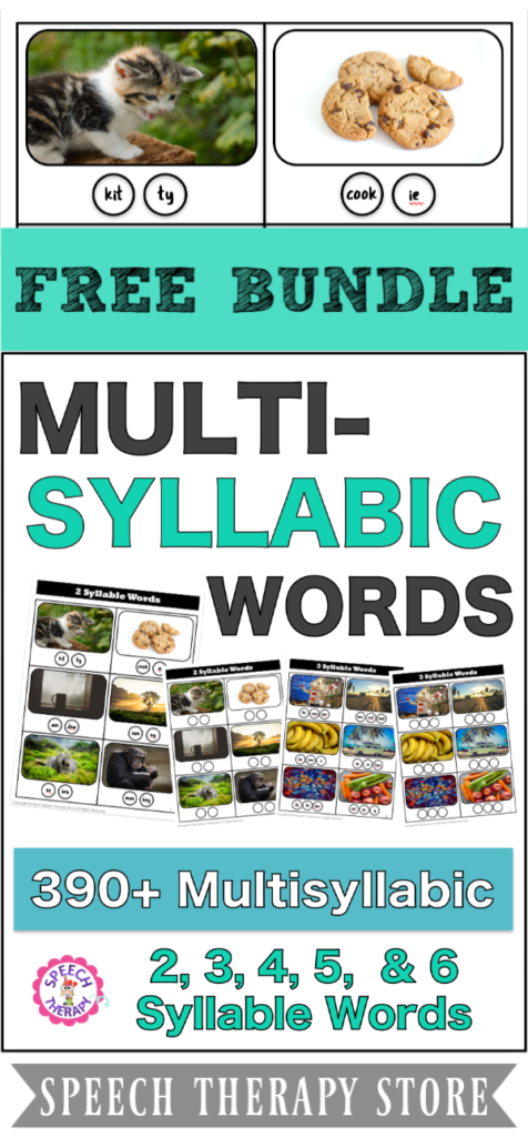 Multisyllabic Word List Bundle