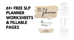 The Ultimate Free SLP Planner 2019-2020 [Fillable]