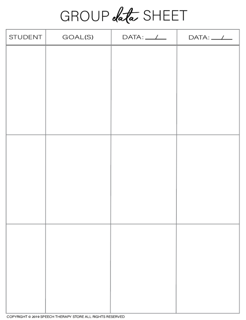 Free SLP Planner Group Data 3