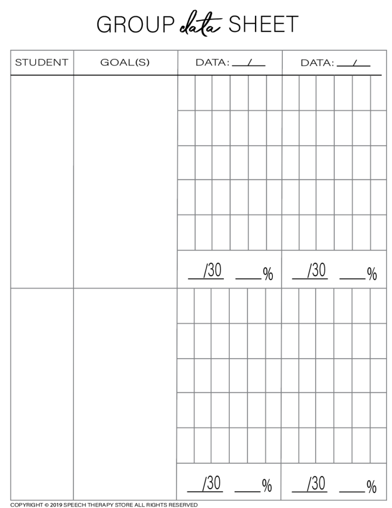 Free SLP Planner Group Artic 2