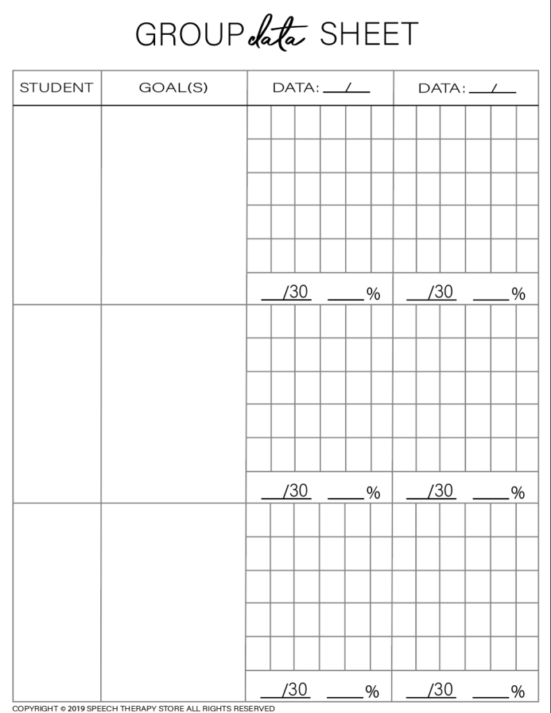 Free SLP Planner Group Artic 3