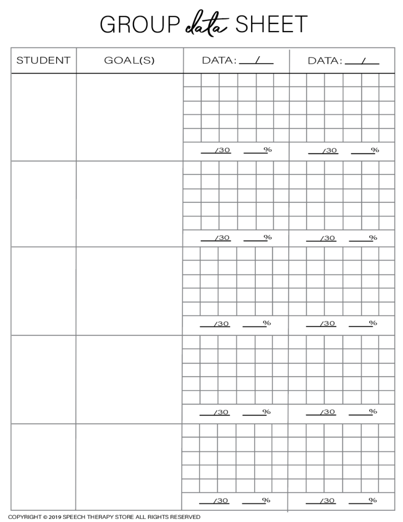 Free SLP Planner Group Artic 5