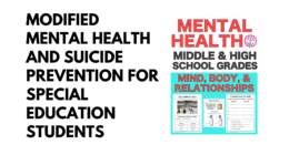 Modified Mental Health and Suicide Prevention