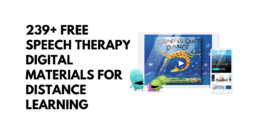 239+ FREE Speech Therapy Digital Materials