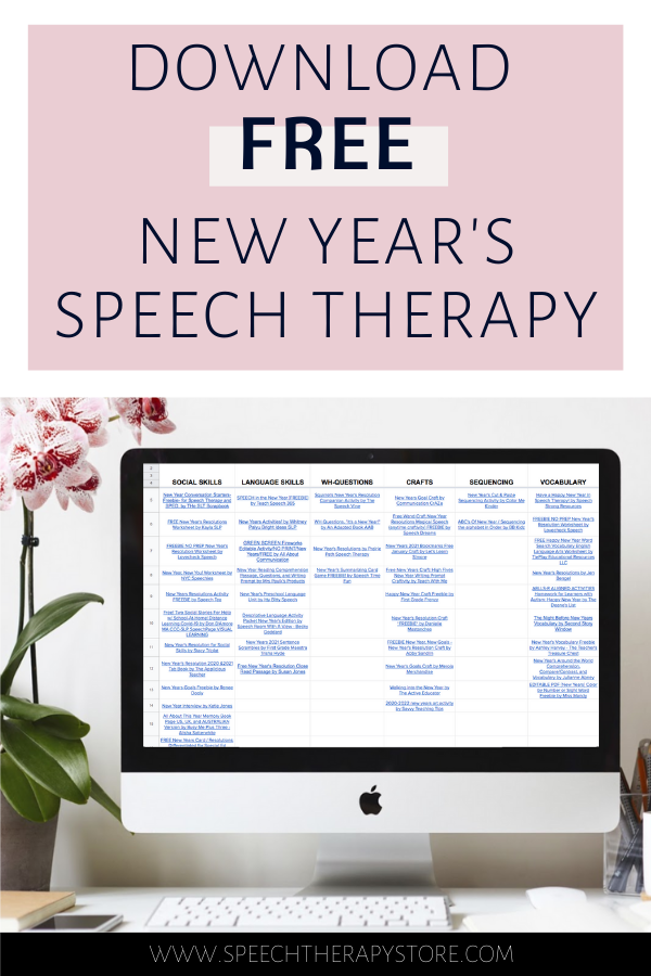new-year's-speech-therapy-activities