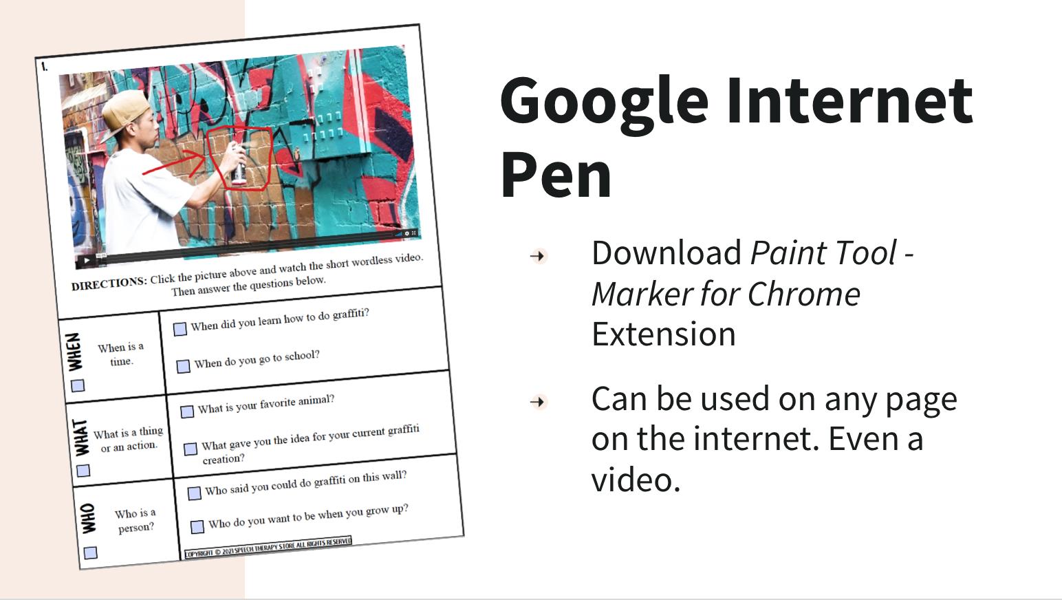 google-internet-pen
