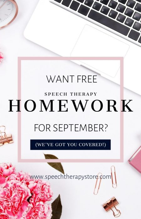 speech-thearpy-homework